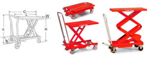 Lift Tables (MH-D/MH-E Series)