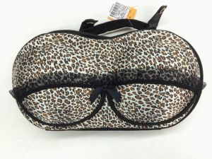 Fashion EVA Travel Bra Shaped Bag