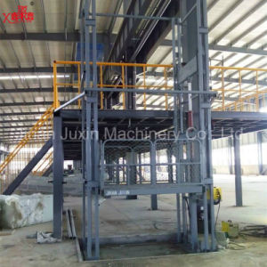 High Quality Goods Vertical Guide Rail Lifting Platform pictures & photos