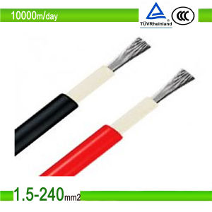 TUV and UL Approved Single Core Solar Cable 4mm2 pictures & photos