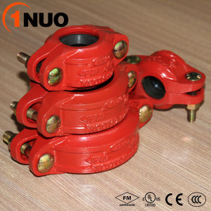 China Made Ductile Iron Grooved Pipe Fittings Reducing Flexible Coupling pictures & photos