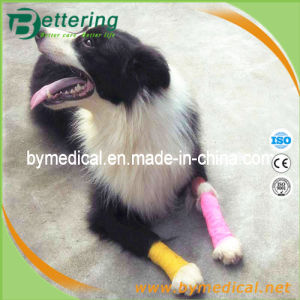 Dog Cohesive Leg Wrap Bandage for Animal Care pictures & photos