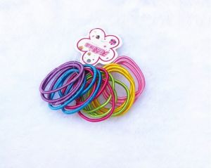 Glitter Child Hair Accessory Ponytail Holder pictures & photos