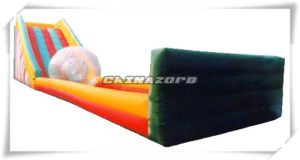 Long Size Inflatable Zorb Slide for Sale