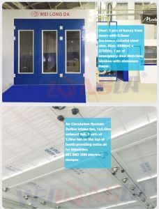 Wld8400 Automotive Paint Booths Manufacturers pictures & photos
