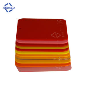 Red Cast Acrylic Sheet (SDL-138) pictures & photos