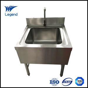 Stainless Steel Hand Washing Sink Freestanding Type
