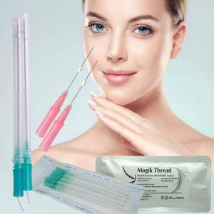 Hilos Tensores Korea Facial Double Needle Mono Screw 3D Cog Pdo Thread Lift  for Nose Lifting
