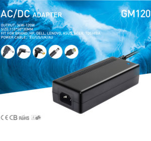 120W Laptop AC Adapter 19V 6.3A Power Adapter for Notebook Charging pictures & photos