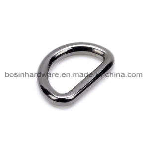 Handbag Gunmetal Metal D Ring