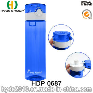 750ml Best-Selling Qualified Tritan Plastic Water Bottle, BPA Free Plastic Sport Water Bottle (HDP-0687) pictures & photos