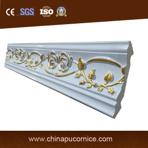 Gold Color PU Cornice