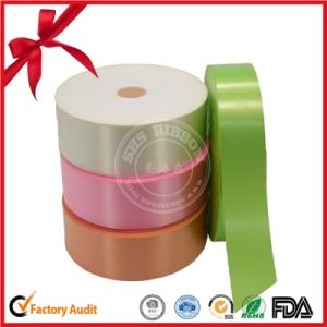 Grosgrain Solid Colorful Ribbon Roll Christmas Ribbon for Decoration pictures & photos
