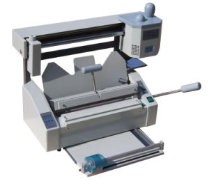 Multi-Function Perfect Binding Machine for Hardcover pictures & photos