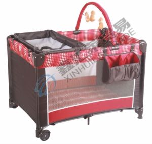 Baby Playpen with Multi-Function Second Layer