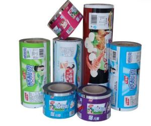 Laminated Plastic Wrapping Film Plastic Roll Film for Snack pictures & photos