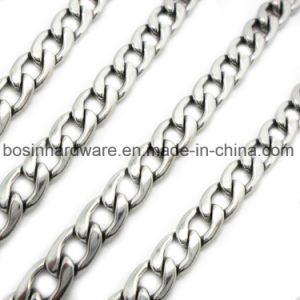 Stainless Steel Mens Cuban Curb Chain pictures & photos