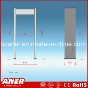 China Manufacturer High Sensitivity Door Frame Metal Detector with 24zones pictures & photos