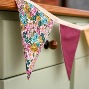 Christmas Decoration Custom Fabric Bunting Banner Flags