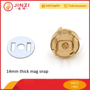 14mm Metal Magnet Snap, Thin and Thick Mag Snap with High Quality pictures & photos