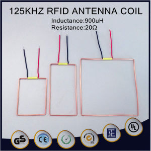 125khjz RFID Antenna Coil 900uh Air Magnetic Inductor