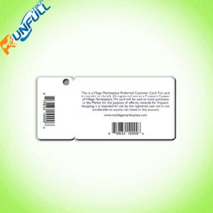 Full Color Printing PVC Key Card with Different Type Barcodes