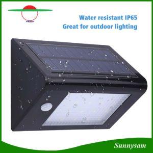 Super Bright Security Lamp 350lm Solar Wall Light Pir Motion Sensor Garden Yard