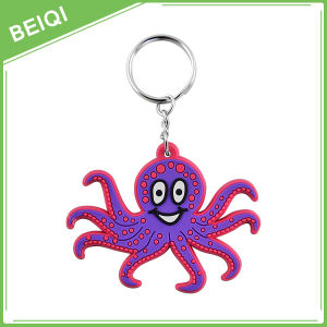 Promotional Gifts Rubber Key Chain / Custom PVC Keychain / Plastic Silicon Keychain pictures & photos