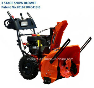 208cc Lct Snow Engine 3 Stage Snow Plow
