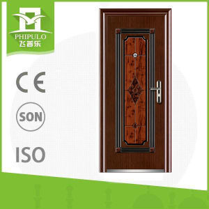 China Iron Outdoor Door Flat Main Gate Designs China Steel Door