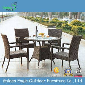 Rattan Furniture Coffee Shop Tables and Chairs