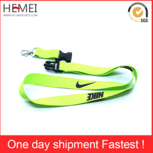 Lanyards Custom Promotion Polyester Sublimation Lanyards with Detachable Buckle