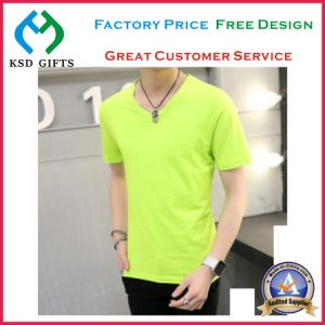 High Quality Logo Custom Plain T-Shirts pictures & photos