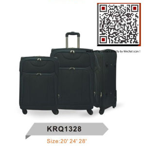 Soft Travel Trolley Luggage Factory (KRQ1328) pictures & photos