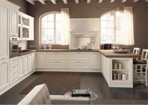 Champagn MDF Cabinet Door Kitchen Furniture pictures & photos