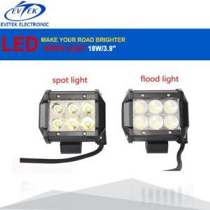 18W LED Light Work Bar Lamp Light Driving Fog Offroad SUV 4WD Car Boat Truck NEW