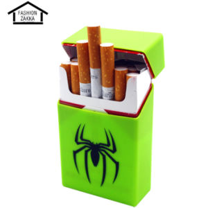 Hot Sale Fashion Spider Shaped Silicone Eco-Friendly Cigarette Case pictures & photos