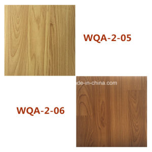 Factory Wooden Grain Plastic Laminate Flooring for House Decoration pictures & photos