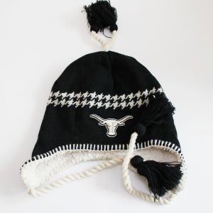 Earflap Knitted Hat (OKM07-051) pictures & photos
