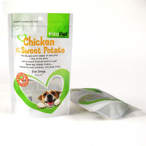 Dog Food Packaging Bag with Zipper and Hang Hole pictures & photos