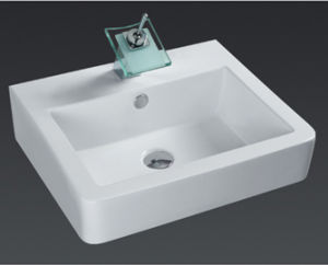 Modern Basin MDF Bathroom Furniture (6506) pictures & photos