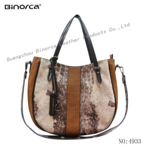 555886ce3620 Professional ODM OEM New Fashion Fabric and PU Contrast Lady Handbags with  Good Quality Competitive