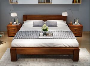 Modern Furniture High Quality Wooden Bed/Fashionable Wooden Bed/Double Wooden Bed Cx-Wb01 pictures & photos
