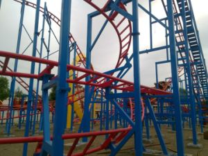 Thrilling Designed Gold Supplier Favorable Price Overlapping Roller Coaster pictures & photos