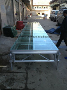 Hot Sales Portable Glass Stage in 2016 pictures & photos