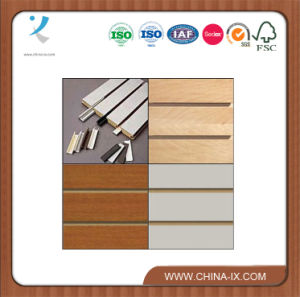 Customized Slat Wall Fixture with Double Sided Panel pictures & photos