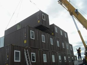 Used Shipping Container House/Home pictures & photos