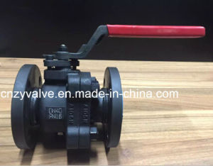 2 Pieces Class 300lb Forged Steel A105/F304/F316/F321 Ball Valve Handlever pictures & photos