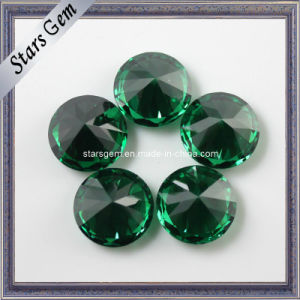Factory Competitive Price Dark Emerald Color CZ Gemstone for Jewelry pictures & photos