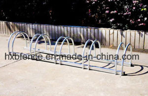 Easy to Set up 5 Bikes Galvanized Bike Rack pictures & photos